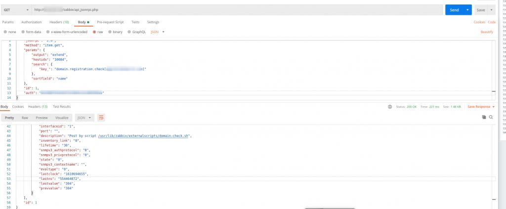 Sử dụng API trong Zabbix